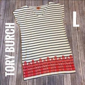 Tory Burch striped dress, large